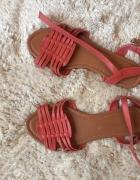 Nowe czerwone sandały 38 Atmosphere...
