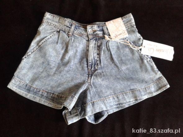 Nowe jeansowe spodenki 36 Atmosphere...