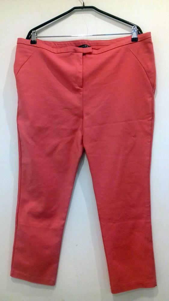 różowe spodnie George 48...