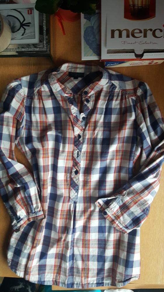 Koszula w krate Top Shop s...