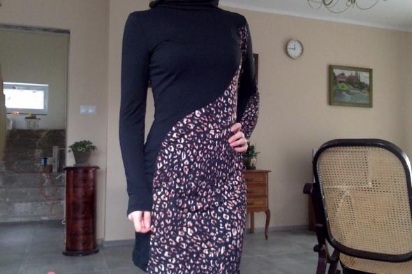 Sukienka panterka French Connection r 38