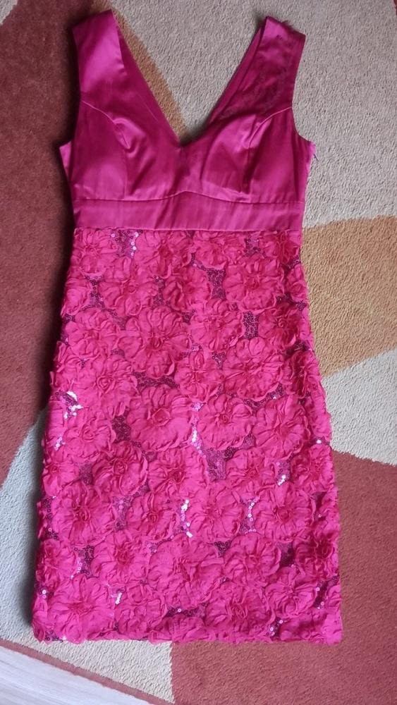 Sukienka malinowa r 38