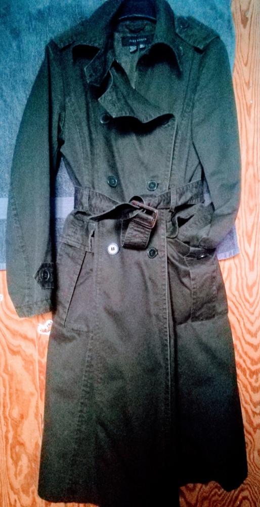 Odzież wierzchnia Płaszcz Zara zieleń