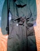 Płaszcz Zara zieleń
