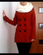 Płaszcz kurtka ceglasty jesień zima House XS...