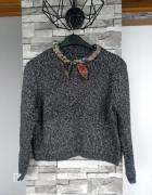 Krótki sweterek...