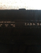 materiałowe czarne rurki ZARA...