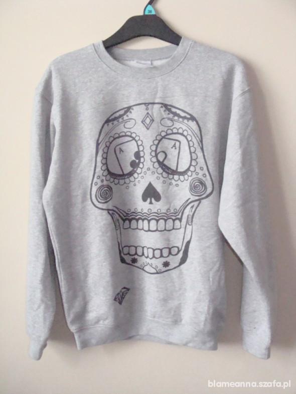 Bluza DIRTY SWAG czaszka meksykańska S crewneck