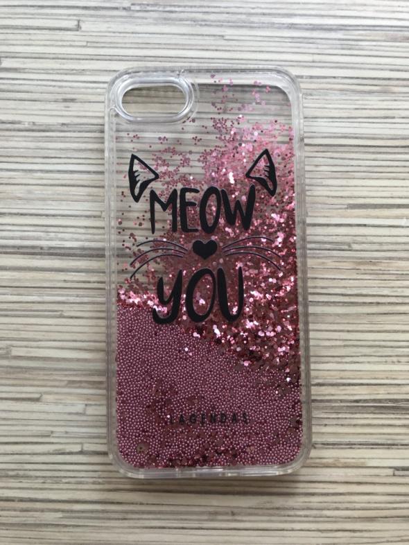 Obudowy i etui Case na telefon iPhone 7 Glitter kot