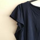 H&M bluzka z falbanami na rękawach
