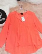 Neonowa koszula nowa z metką H&M...
