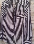 Koszula H&M modne paski 34