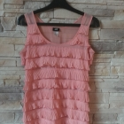 H&M sukienka z falbanami r38