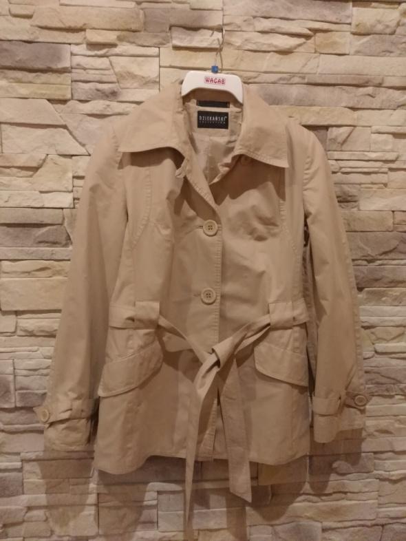 Odzież wierzchnia DZIEKAŃSKI cienki płaszcz r38 idealny