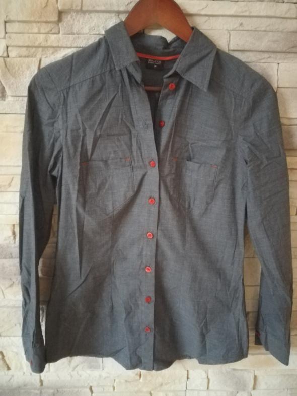 Koszule BIALCON koszula szara r38