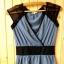 bluzka s 36 reserved niebieska czarna