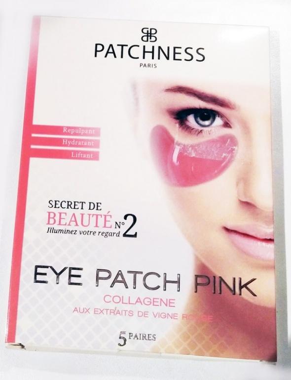Płatki pod oczy marki Patchness z gratisem