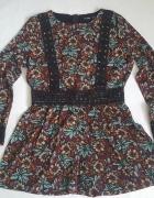 kombinezon jumpsuit floral kwiaty Boohoo ASOS 42 XL...