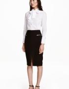 Spodnica ołówkowa H&M czarna elegancka XS...