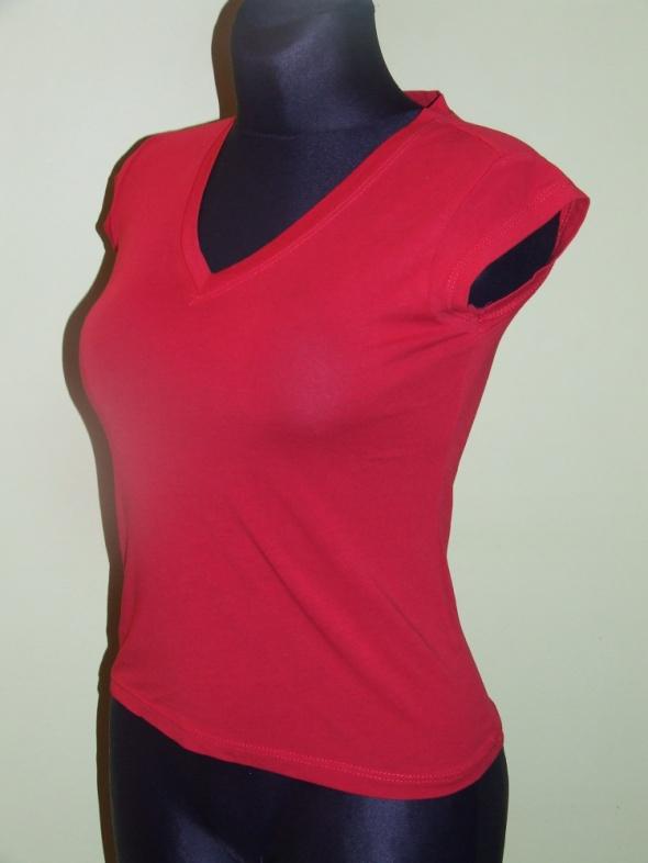 czerwona bluzka Fashion House rozmiar S...