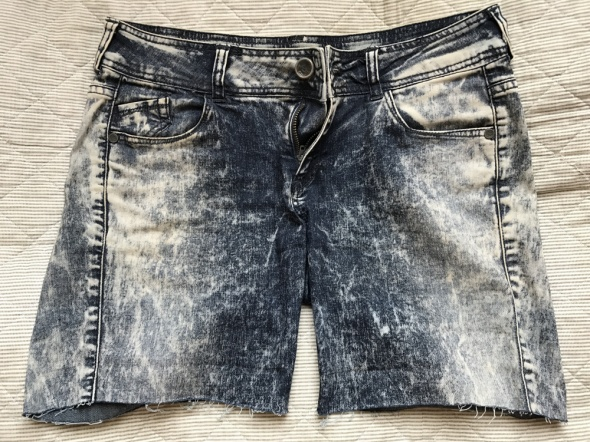 Szorty jeansowe bershka