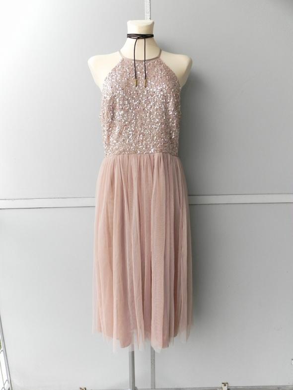 e037289c44 Maya Deluxe cekinowa tiulowa suknia 42 w Suknie i sukienki - Szafa.pl