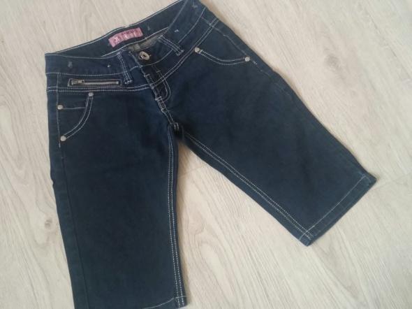 Spodenki Spodenki jeans rybaczki 34