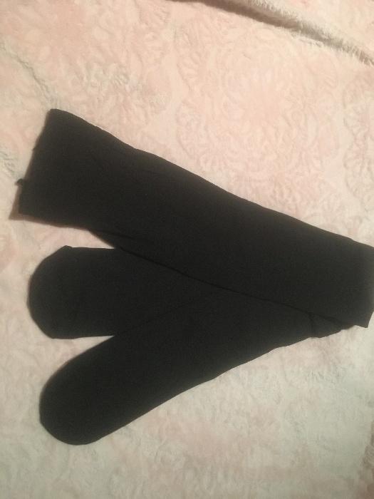 rajstopy damskie czarne używane