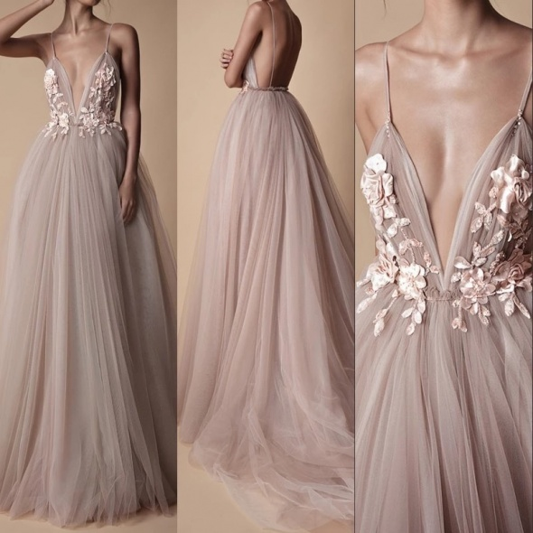 Bajkowa długa suknia