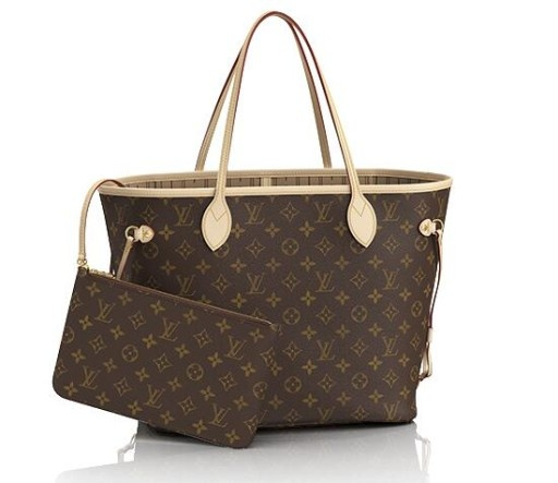 TOREBKA LV NEVERFULL MONOGRAM MM