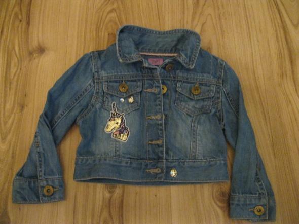 kurtka katana jeans F&F 86 niebieska