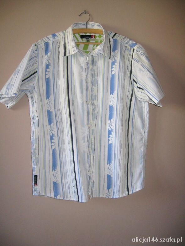QUIKSILVER koszula krótki rękaw M