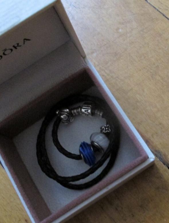 Pandora bransoletka oryginał 4 charmsy...