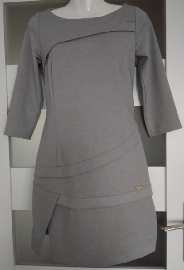 Szara sukienka XS