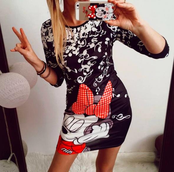 Sukienka Damska Mickey Mouse M