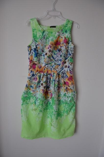 e137882071 Suknie i sukienki Cocomore sukienka zielona seledynowa w kwiatki 38 M 40 L  must have 2018