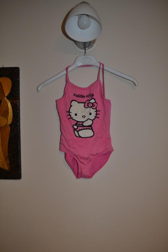 Zara 7 8 lat Hello Kitty Strój kąpielowy