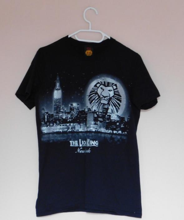 Disney czarny t shirt Król Lew 36...