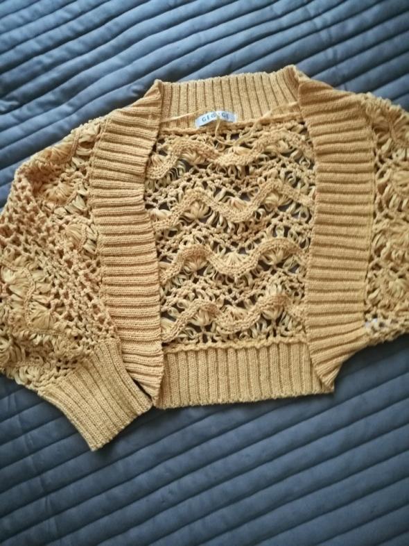 Bolerko sweterek