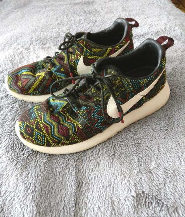 Nike Roshe Run limitowana edycja wzory etniczne azteckie 38 385...