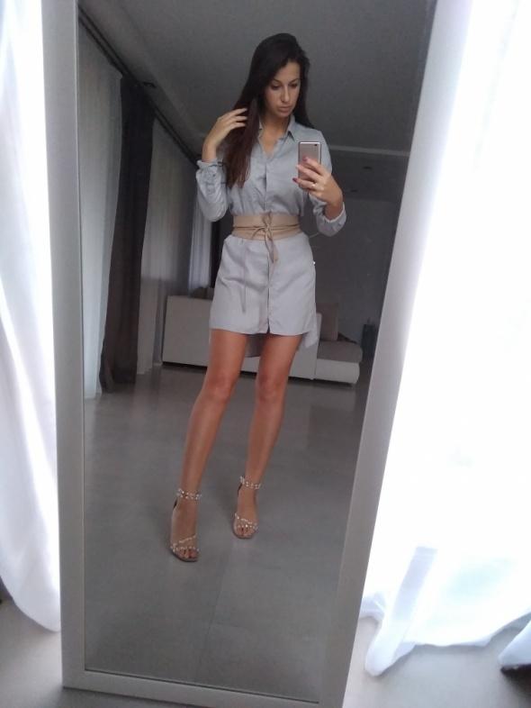 Sukienka koszulowa h&m