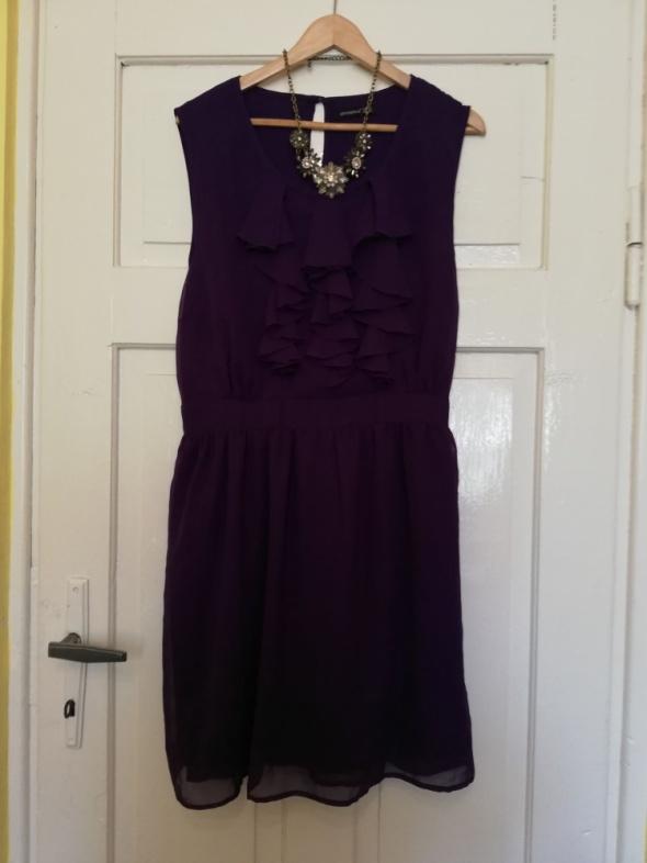Ciemnofioletowa sukienka Atmosphere rozmiar 46 XXXL