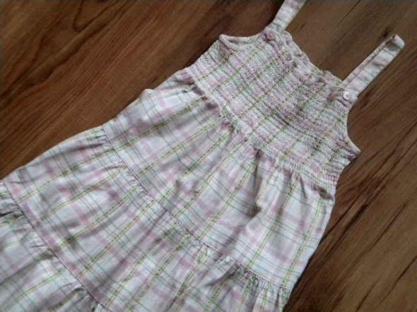 sukienka rozmiar 98 firma mothercare w kratkę