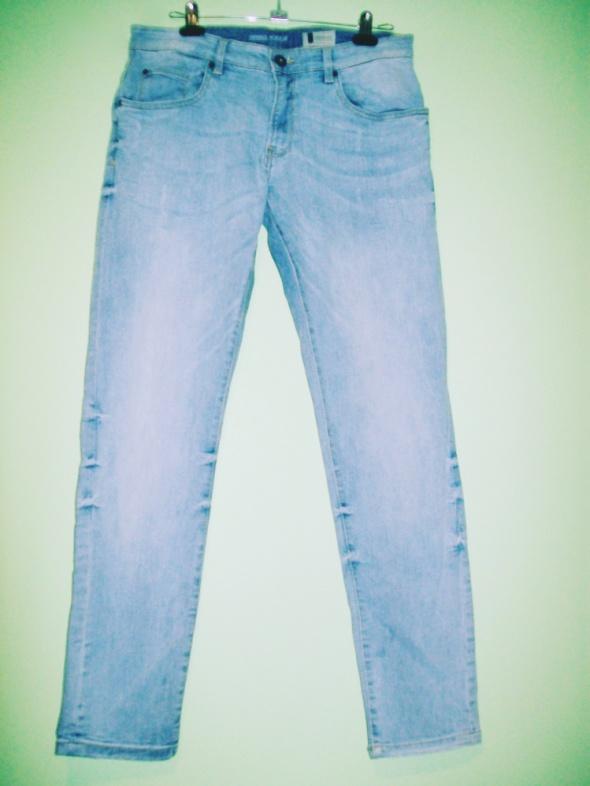 spodnie dżinsy męskie