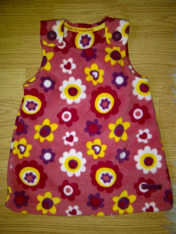 Sukienka z polarku r 6 9 miesiace