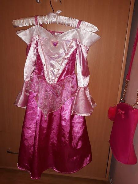 Sukienka księżniczka r 5 6 lat