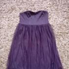 Śliwkowa sukienka VILA