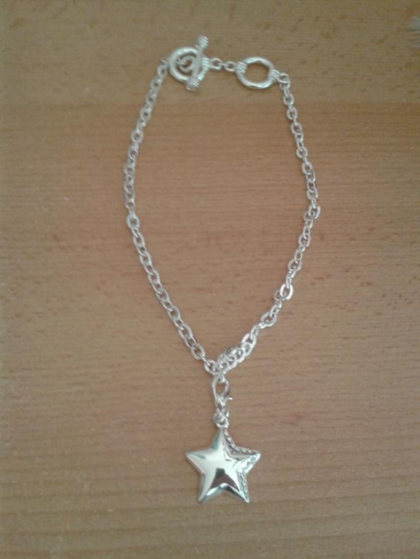 Naszyjnik Avon Eternal Love gruby łańcuch gwiazda charms cyrkon...