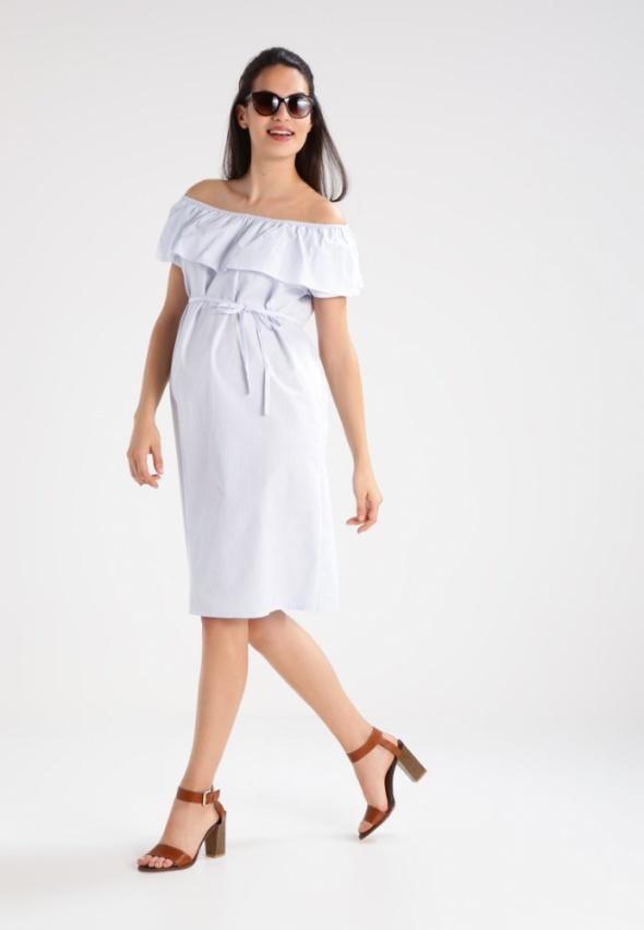 Asos maternity ciążowa sukienka paski hiszpanka...