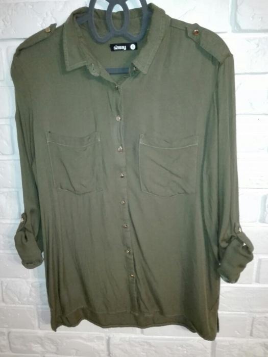 Koszula military khaki Sinsay S